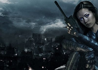 Summer Glau, Terminator The Sarah Connor Chronicles, Cameron Phillips - related desktop wallpaper