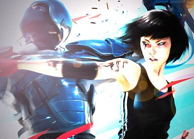 Mirrors Edge, Faith (Mirror's Edge) - random desktop wallpaper