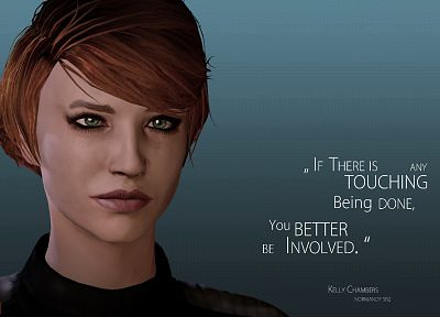 Mass Effect, Kelly, Kelly Chambers - random desktop wallpaper