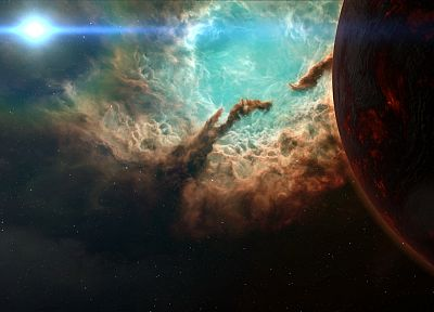 outer space, planets, spacescape - related desktop wallpaper