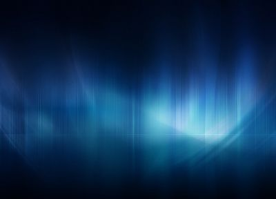 abstract, blue, aurora borealis - random desktop wallpaper