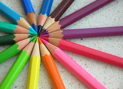 multicolor, crayons, pencils - random desktop wallpaper