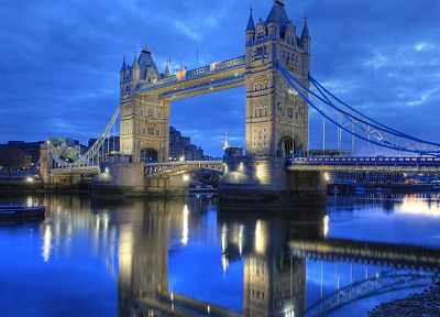 architecture, London, Tower Bridge - random desktop wallpaper