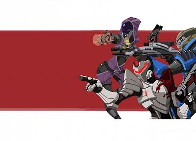 Mass Effect, Tali Zorah nar Rayya - random desktop wallpaper