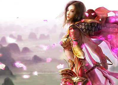 CGI, fantasy art, armor, artwork - related desktop wallpaper
