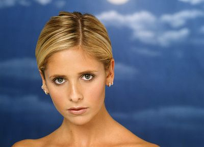 Sarah Michelle Gellar, Buffy the Vampire Slayer, Buffy Summers - desktop wallpaper