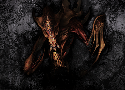 StarCraft, Hydralisk, StarCraft II - related desktop wallpaper