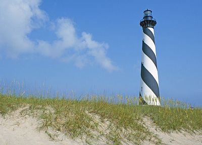 landscapes, lighthouses, North Carolina - random desktop wallpaper