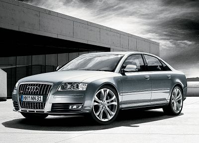 Audi, HDR photography, 2008, Audi A8L - related desktop wallpaper