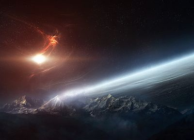 outer space, planets - popular desktop wallpaper