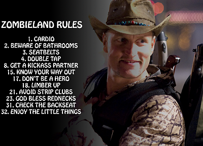 Zombieland, Woody Harrelson - random desktop wallpaper