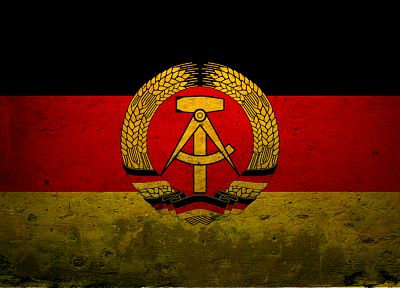 Germany, flags, Deutch Democratic Republic, East Germany - desktop wallpaper