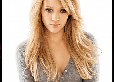blondes, Hilary Duff, celebrity - related desktop wallpaper