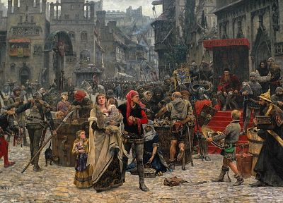 paintings, historic, Carl Gustaf Hellqvist - random desktop wallpaper