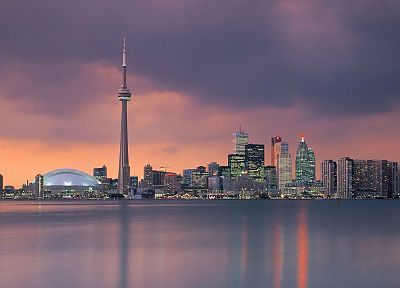 skylines, Canada, Toronto - desktop wallpaper