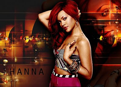 women, Rihanna, celebrity, singers - random desktop wallpaper