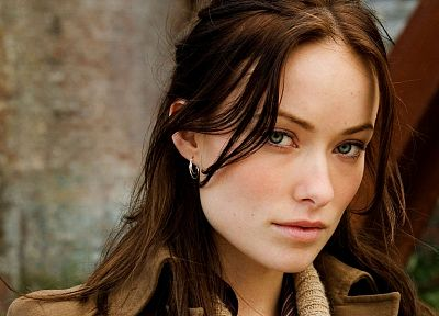 brunettes, women, models, Olivia Wilde - desktop wallpaper