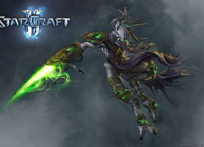 StarCraft II, Zeratul - desktop wallpaper