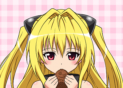 blondes, To Love Ru, Golden Darkness - desktop wallpaper
