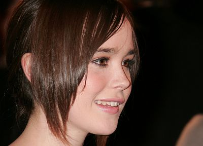 women, Ellen Page - desktop wallpaper