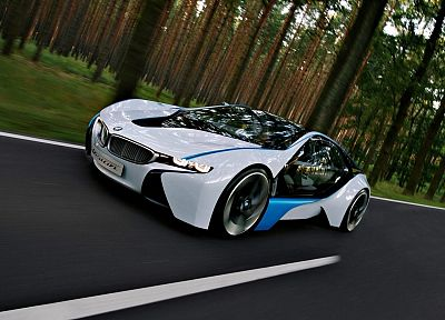 BMW, cars, concept art, BMW Vision - related desktop wallpaper