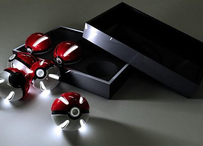 Nintendo, Pokemon, Poke Balls, CGI - random desktop wallpaper