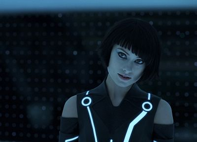Olivia Wilde, Tron, Tron Legacy, Quorra - related desktop wallpaper