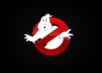 Ghostbusters, logos - random desktop wallpaper