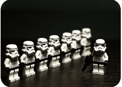 Star Wars, stormtroopers, clone trooper, Legos - related desktop wallpaper