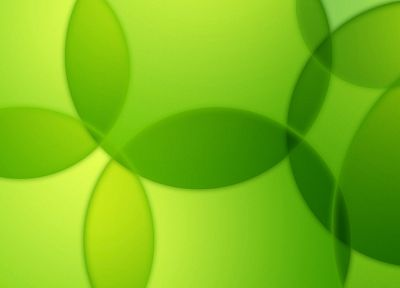 green, abstract, bubbles - random desktop wallpaper
