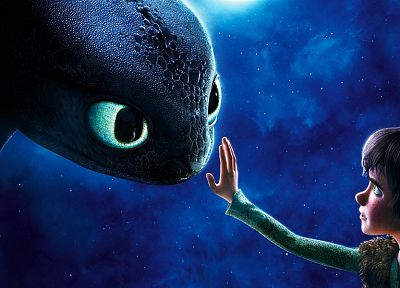 movies, dragons, toothless, How to Train Your Dragon - related desktop wallpaper