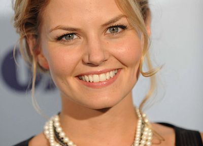 blondes, women, Jennifer Morrison, smiling - random desktop wallpaper