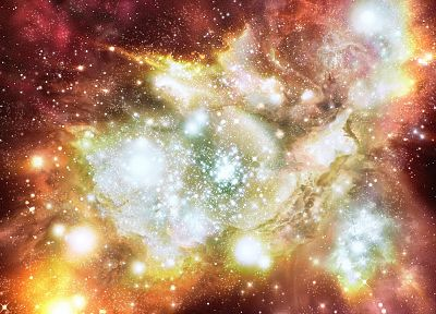 outer space, stars, galaxies, gas cloud - related desktop wallpaper