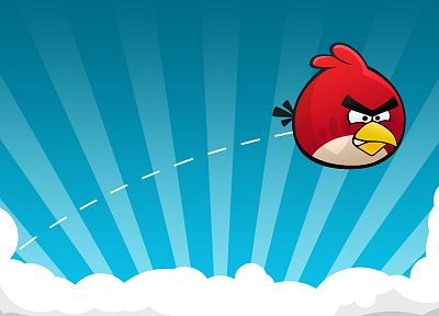 Angry Birds, games - desktop wallpaper