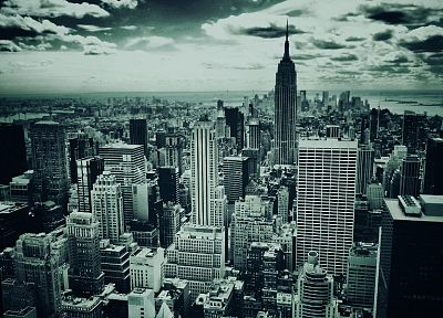 cityscapes, buildings, New York City - random desktop wallpaper
