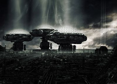 cityscapes, futuristic, futurist, digital art, drawings - related desktop wallpaper