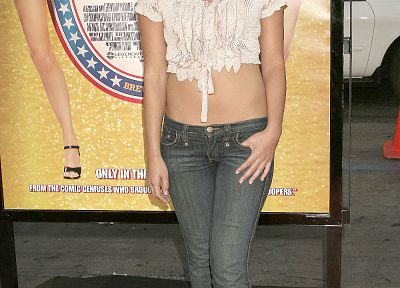 women, jeans, Olivia Munn - related desktop wallpaper