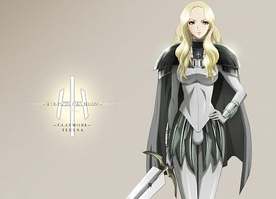 Claymore - random desktop wallpaper