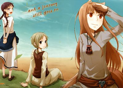 Spice and Wolf, animal ears, Holo The Wise Wolf, inumimi - related desktop wallpaper