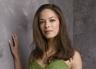 brunettes, women, actress, Kristin Kreuk, Smallville - related desktop wallpaper