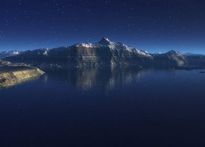 landscapes, CGI - related desktop wallpaper