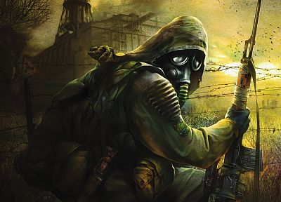 S.T.A.L.K.E.R., war, artwork - related desktop wallpaper