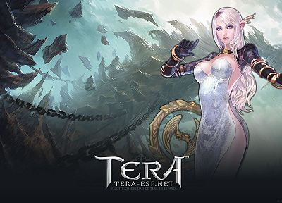 women, Tera, sorcerer, MMORPG, High Elf - related desktop wallpaper
