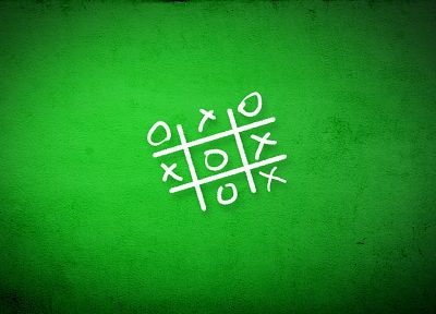 green, Hennessy X.O, tic tac toe - random desktop wallpaper