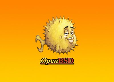 Unix, bsd, OpenBSD - desktop wallpaper
