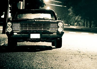 old, cars, parking, vehicles, oldtimer - random desktop wallpaper