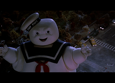 Ghostbusters, Stay Puft Marshmallow Man - random desktop wallpaper