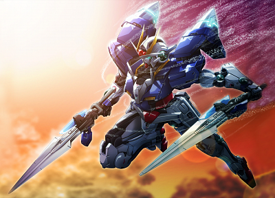 Gundam, mecha, Gundam 00 - desktop wallpaper