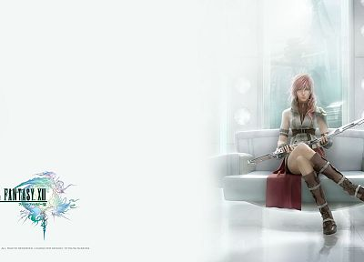 Final Fantasy, video games, Final Fantasy XIII, Claire Farron - random desktop wallpaper