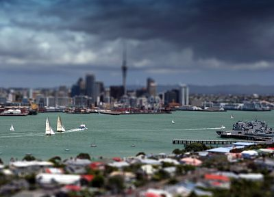tilt-shift, cities - related desktop wallpaper